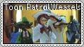 Toon Patrol Weasels Stamp by conkeronine