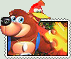 Banjo-Kazooie Stamp by conkeronine