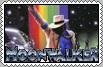 Michael Jackson's MOONWALKER Sega Genesis Stamp by conkeronine