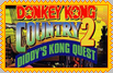 Donkey Kong Country 2 Stamp by conkeronine
