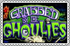 Grabbed By The Ghoulies Stamp