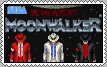 MOONWALKER Arcade Game Stamp by conkeronine