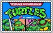 Teenage Mutant Ninja Turtles Arcade Stamp
