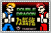 Double Dragon Stamp by conkeronine