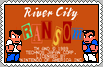 River City Ransom Stamp by conkeronine