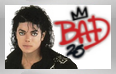 Michael Jackson BAD25 Stamp by conkeronine