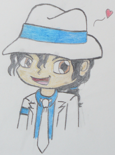 Michael Jackson Chibi Drawing By Conkeronine On Deviantart