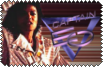 Michael Jackson Captain EO stamp by conkeronine