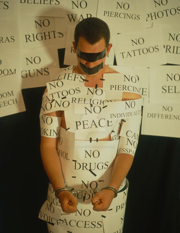 Anti-Freedom by TheGreenFairy
