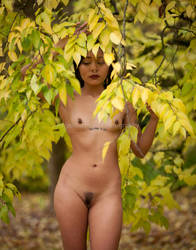 Fall Nude Series- Luna by TheGreenFairy