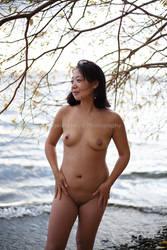Fall Nude Series- Eiko by TheGreenFairy