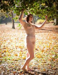 Fall Nude Series- Sam by TheGreenFairy