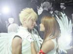 Cloud and Tifa cosplay