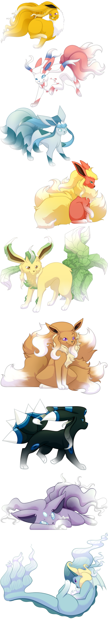 Pokemon Fusion Commission by Griz-The-Ambear