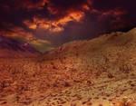 Sunset Desert Premade BG