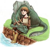 Water Dragon by courtneygodbey