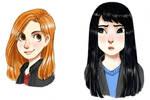 Ginny and Cho