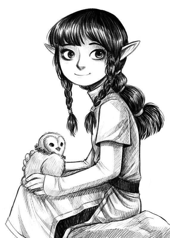 Elf by courtneygodbey