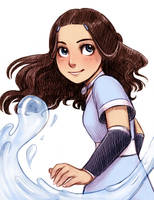 Katara by courtneygodbey