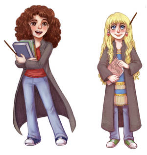 Hermione and Luna 2
