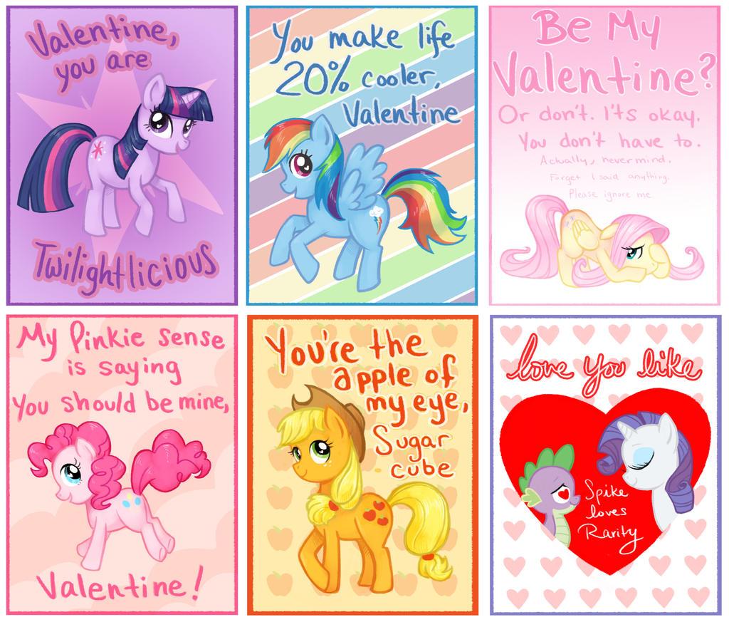 My Little Pony Cards By Courtneygodbey On Deviantart