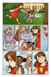 Mary Marvel pg 6 by courtneygodbey