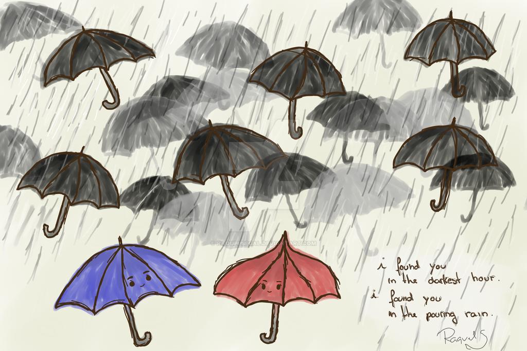 The Blue Umbrella By Raquelsegal