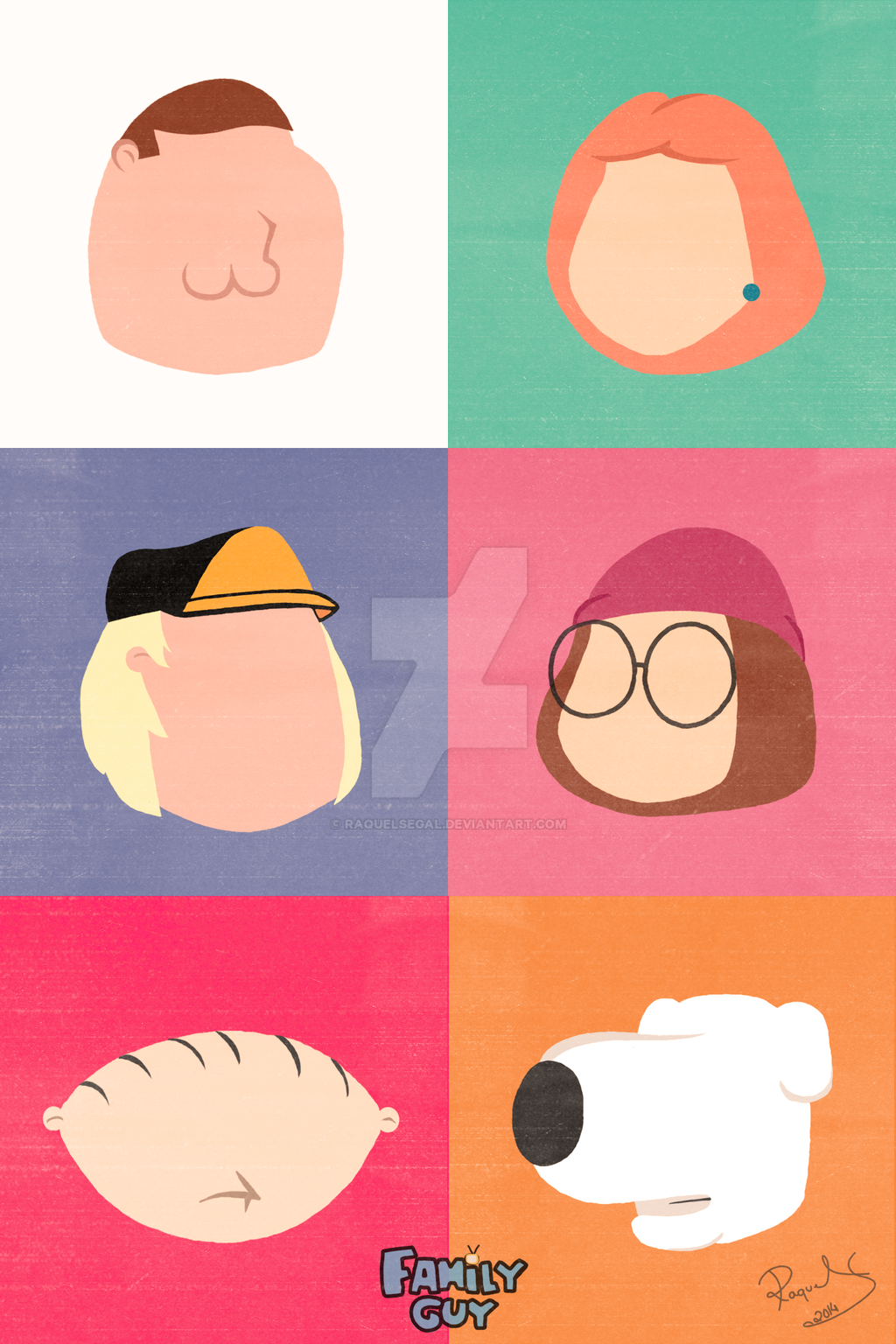 Family guy minimalist by raquelsegal on deviantart for Minimal art family