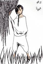Inktober #13 : The Explorer (again) by Chitsuu