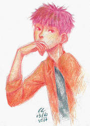 Colored pencils by Chitsuu
