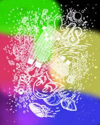 Splash of colors