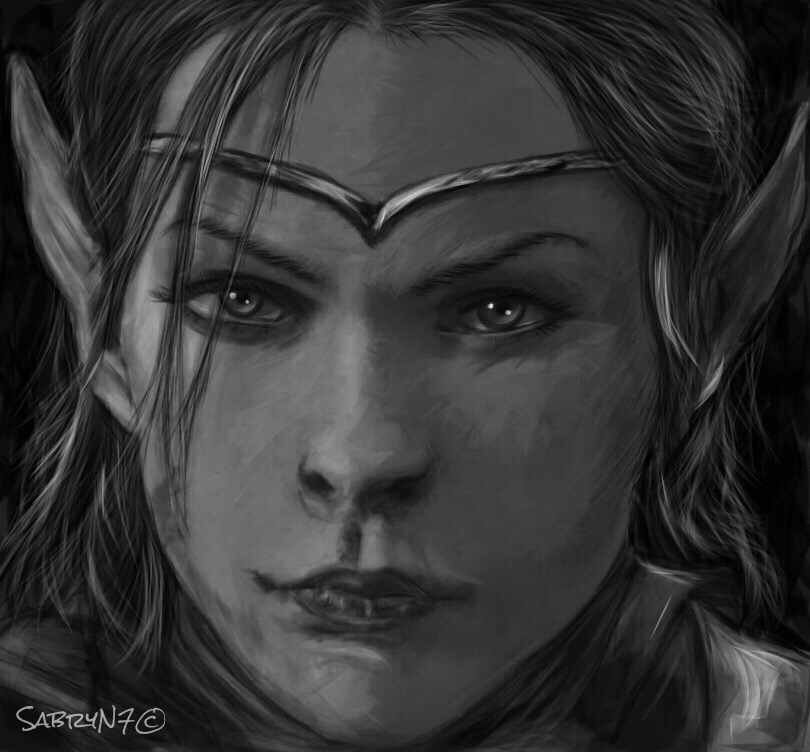 My drawing in honor of TESO by SabryN7