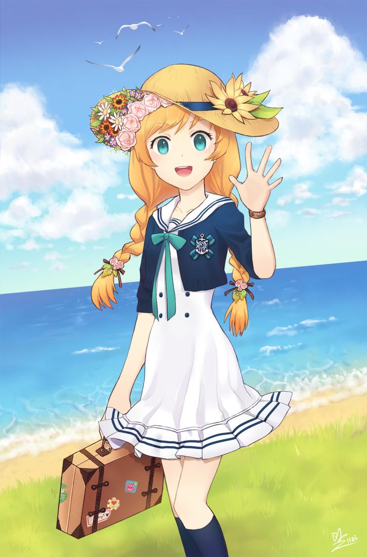 marine Girl by Minari23