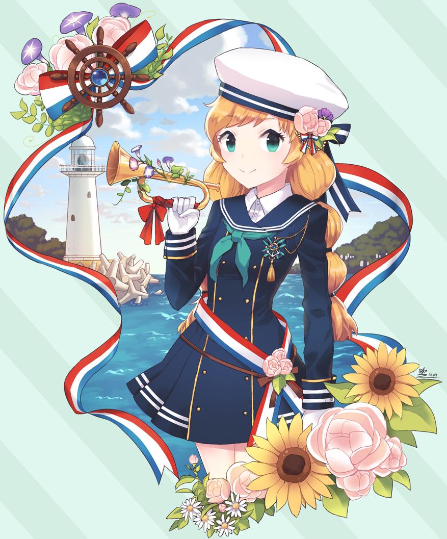marine Girl 2 by Minari23