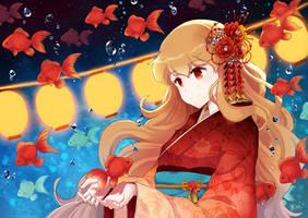 Goldfish by Minari23
