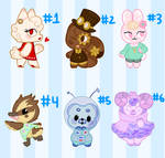[CLOSED] Animal Crossing Auction!