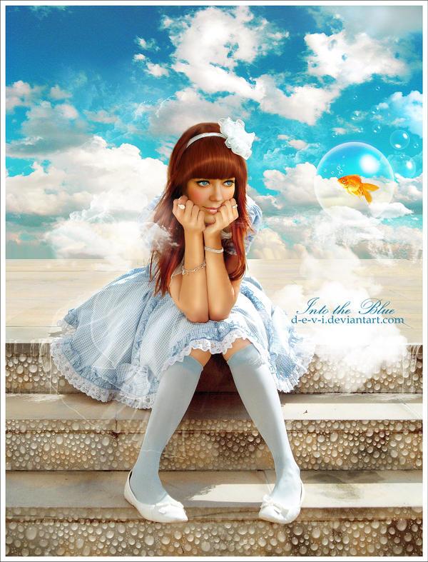 Into the blue by D-e-v-i