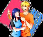 Naruto fanart. NaruHina