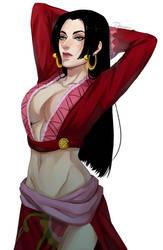 One Piece. Boa Hancock by soldagarius