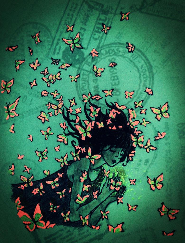 fly fly little butterfly Five little butterflies by cookie zingarelli (tune: five little chickadees)  butterfly, butterfly, fly, fly away four little butterflies sitting in a tree.