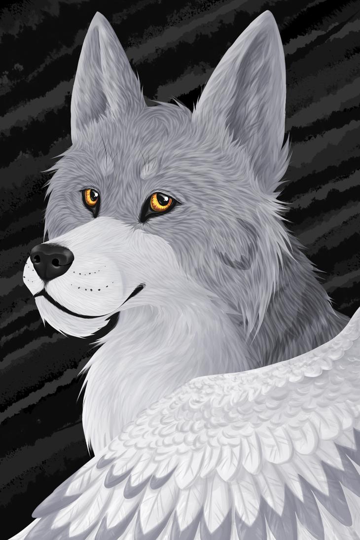 Luna the Wolf by LunaWolf43