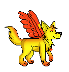 Pixel Fire by LunaWolf43