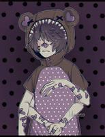 teddy bear by lilanero
