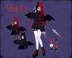 vampire adoptable | CLOSED