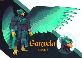 [OPEN]Adoptable #1 Garuda by guppo