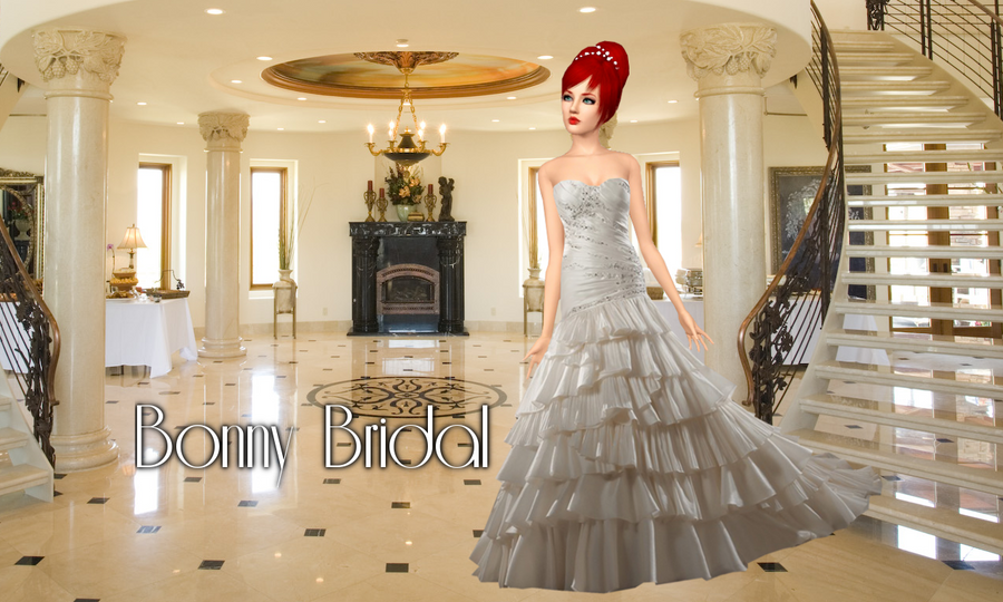 Bonny Bridal Ad W Sims 3 By Sweetstop7