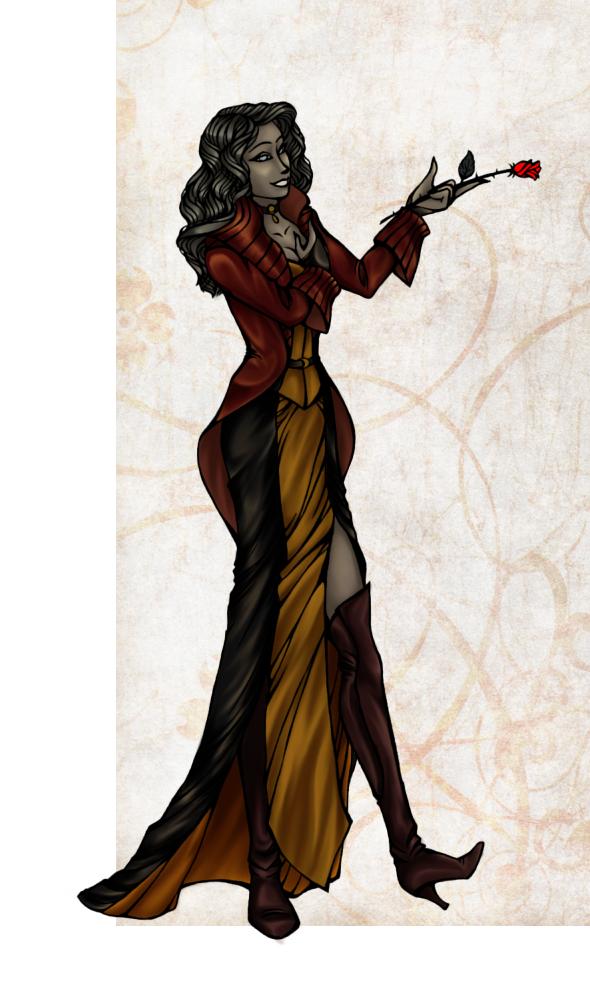 Dark Belle by HechiceraRip
