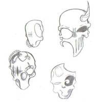 masks by jackalsmoon