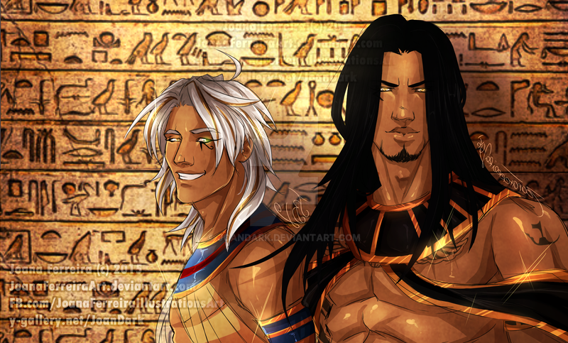 horus and anubis relationship to other gods