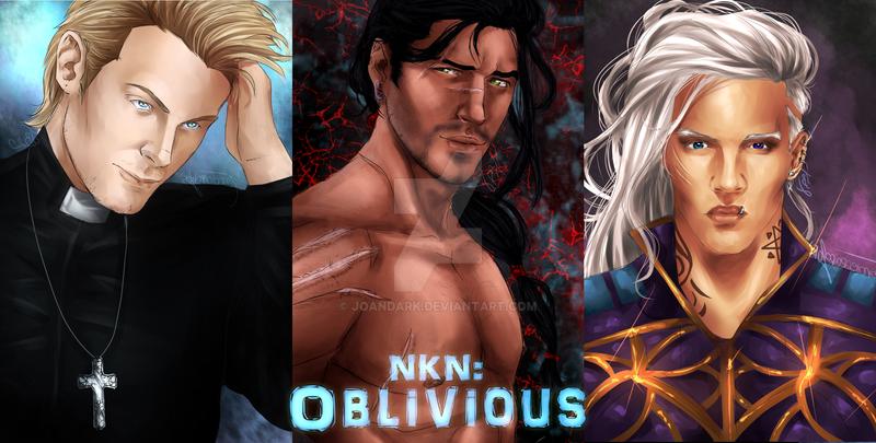 .: NKN: Oblivious :. by JoanaFerreiraArt